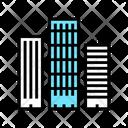 Skyscraper Buildings Color Icon