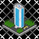 Skyscraper Isometric Building Icon