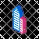 Skyscraper Building Isometric Icon