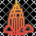 Skyscraper Building City Icon