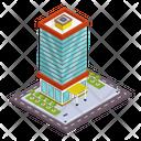 Architecture City Building Estate Icon