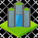 Large Skyscraper Isometric Icon