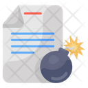 Slang Code File Bomb Cyber Comb Icon