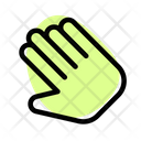 Slant Hand Pointer Icon