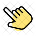 Slant Hand Selection Icon
