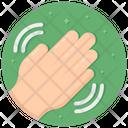 Finger Halt Hand Icon