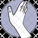 Slapping Slap Fingers Icon