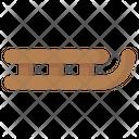 Sled Sledge Sleigh Icon