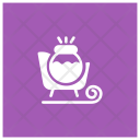 Sledge Cart Christmas Icon