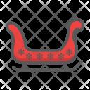 Sledge Sled Santa Icon