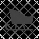 Sledge Sled Icon