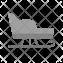 Sledge Sled Seat Icon