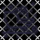 Sledge Sleigh Gift Icon