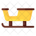 Sledge Bobsleigh Luge Icon