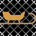 Sledge Santa Christmas Icon
