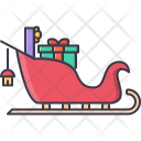 Sledge Sled Gifts Icon