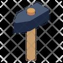 Hammer Sledge Hammer Carpenter Tool Icon