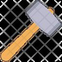Sledge Hammer Work Tool Icon