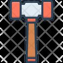 Sledgehammer Breakdown Construction Icon