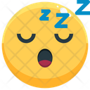 Sleep Emoji Emotion Icon