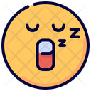 Sleep Sleeping Emot Icon