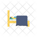 Sleep Bed Interior Icon
