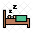 Sleep Patient Bed Icon