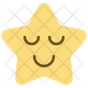Sleep Emoticon Star Icon