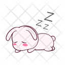 Tired Zzz Lying Icon