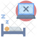 Sleep Rest Silent Icon