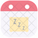 Sleep Pillow Night Icon
