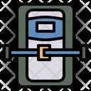 Sleep Capsule Astronaut Rest Icon
