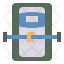 Sleep Capsule Astronaut Rest Icon