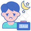 Sleep Disorder Disorder Night Icon