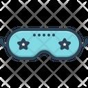 Sleep Mask Icon