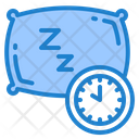 Sleep Time Time Clock Icon