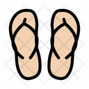 Flipflop Sandal Sleeper Icon
