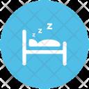 Sleeping Bedroom Hotel Icon
