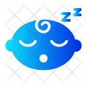 Sleeping Boy Baby Icon