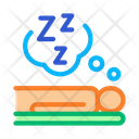 Human Sleep Biohacking Icon