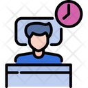 Sleeping Relaxation Bedroom Icon