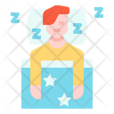 Sleep Sleepy Person Icon