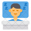Sleep Sleeping Bed Icon