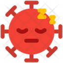 Sleeping Coronavirus Emoji Coronavirus Icon