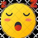Sleeping Smiley Avatar Icon