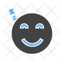 Sleeping Emoji Face Icon