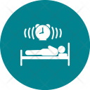 Sleeping Human Activity Icon