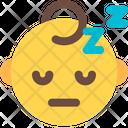 Sleeping Baby Icon