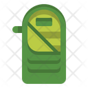 Isleeping Bag Hiking Icon