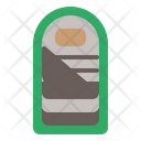 Sleeping Bag Camping Bag Icon